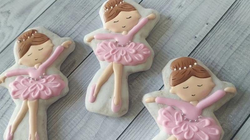 Ballerina Cookies. Имбирное Печенье Балерина
