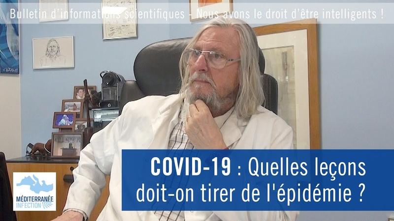 COVID19 Quelles leçons doit-on tirer de lépidémie