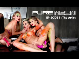 [RoccoSiffredi] Subil Arch, Tiffany Tatum, Nancy Ace - Pure Neon: The Artist | Lesbian Sex Anal MILF Teen Big Tits Ass Порно