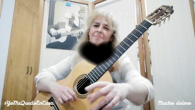 Pequeño gran corazón / Autor: Santiago Delgado Llopart / María Esther Guzmán (guitarra clásica)