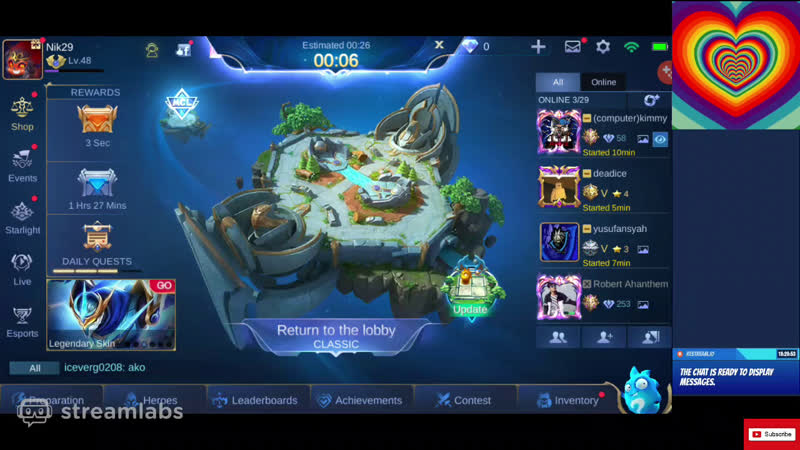 Mobile legends live gaming mlbb india gameplay mpl playing for SAVAGE YT 2020