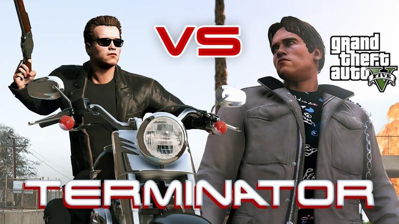 Terminator 1984 Vs Terminator 2 (GTA 5 film) 2020