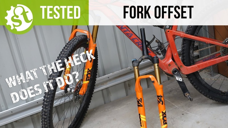 What is fork offset Testing The Santa Cruz Blur With 44 51mm Fork Offsets
