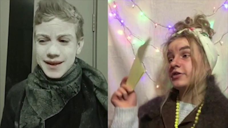 Новогоднее представление СЧАСТЛИВЫЙ БИЛЕТ Музыкальный театр Галлагрант