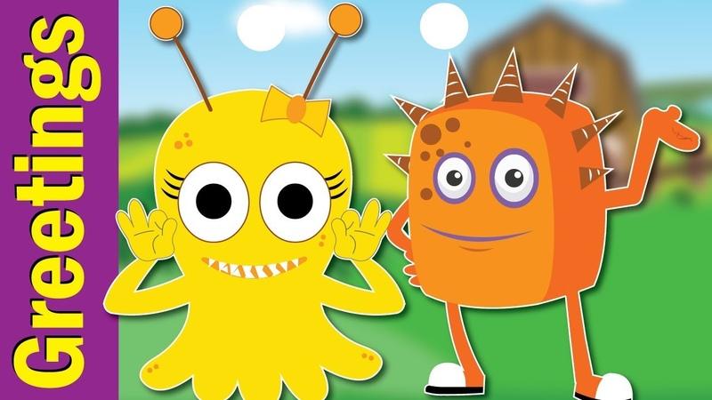 Nice To Meet You Song Hello Song Greetings Song Kindergarten EFL ESL Fun Kids English