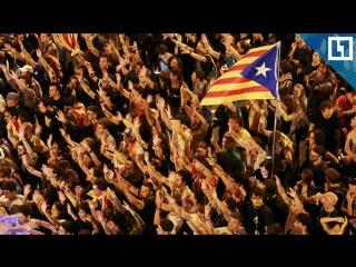 Сторонники независимости Каталонии собрались у Женералитата