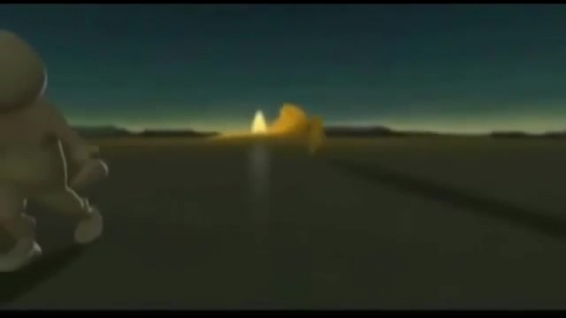 Мультфильм притча о познании мира и себя и стихотворение 'Три свечи' mp4