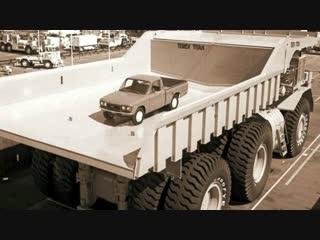 Топ 7 самых больших грузовиков в мире!