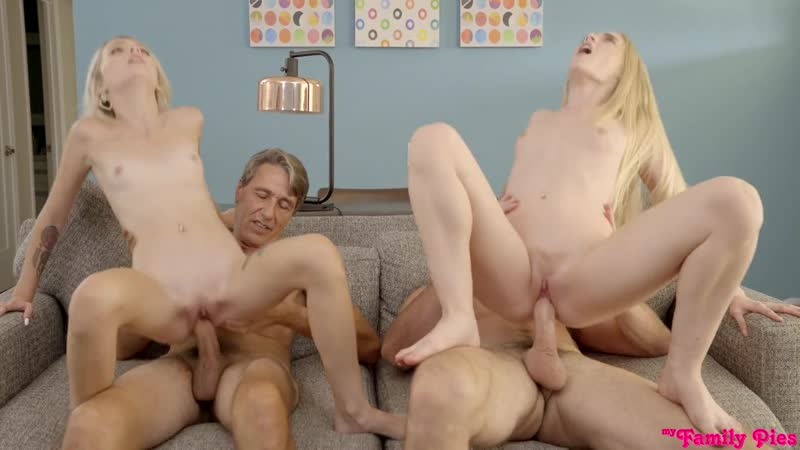 Emma Starletto and Kate Bloom Swapping Our Daughters All Sex, Hardcore, Blowjob,
