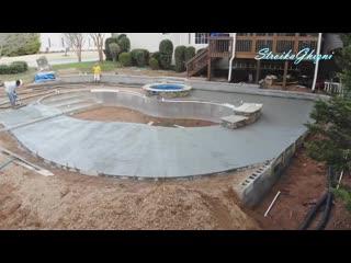 Капитальный бассейн за 6 минут