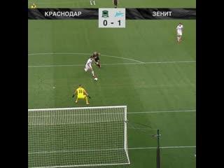 0-1 Сердар Азмун 5' Краснодар - Зенит