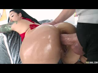Katrina Jade - Red Hot Anal for Katrina - Sex Gonzo Oil Doggystyle Missionary Creampie, Porn, Порно