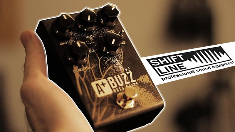 Обзор Shift Line A Buzz V.2 bass overdrive