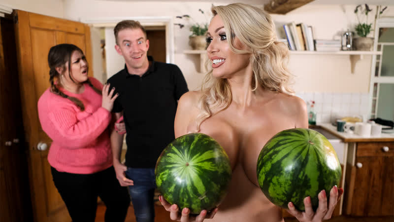 Amber Jayne New To Nudism ( Big Tits, MILF, Blonde, Blowjob, Cheating, Couples Fantasies, Enhanced, Euro,