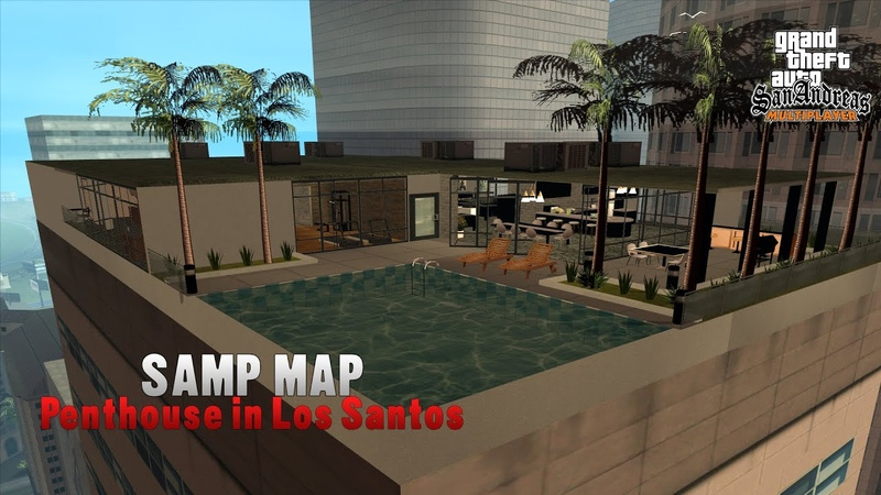 [MAP] GTA V Online Penthouse Style into SAMP - FIRST ONE EVER RELEASED