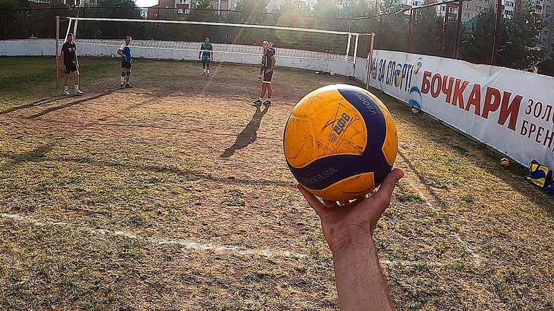 Volleyball First Person 3x3 Masters vs Amateurs Playing in the Ground Highlights 2020