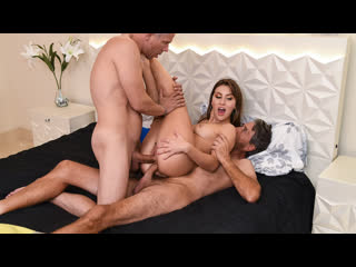 Paige Owens - Trading Up Times Two (Anal, DP, Threesome, Blowjob, Brunette, Hardcore)