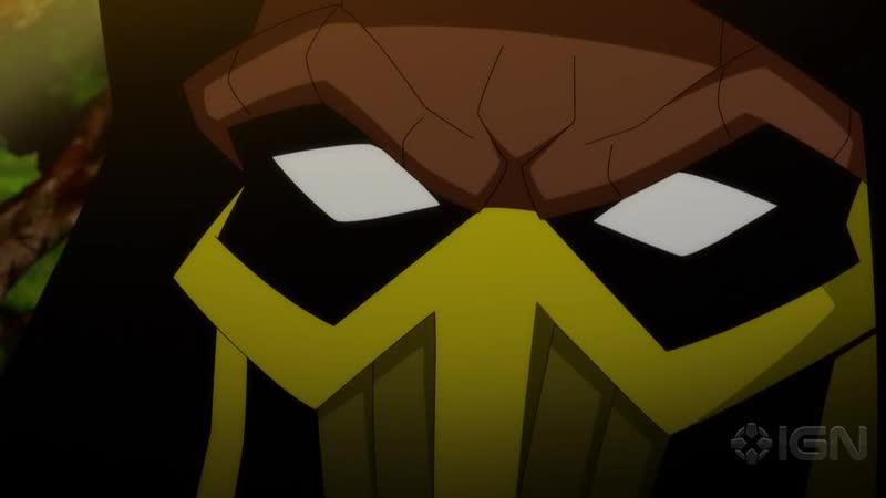 Mortal Kombat Legends Scorpion's Revenge Exclusive Official Fight Clip