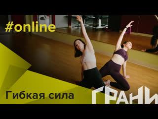 """Домашняя онлайн тренировка """"Гибкая сила"""""""