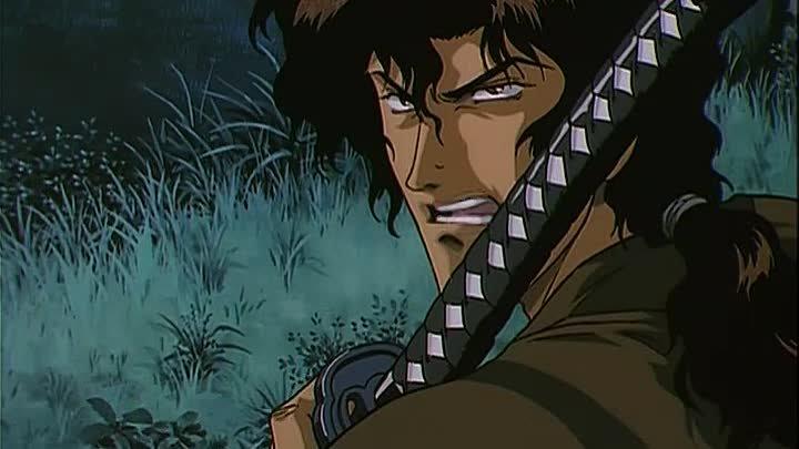 Манускрипт ниндзя - Ninja Scroll [1993 аниме, мультфильм, фэнтези, приключения, DTVRip]