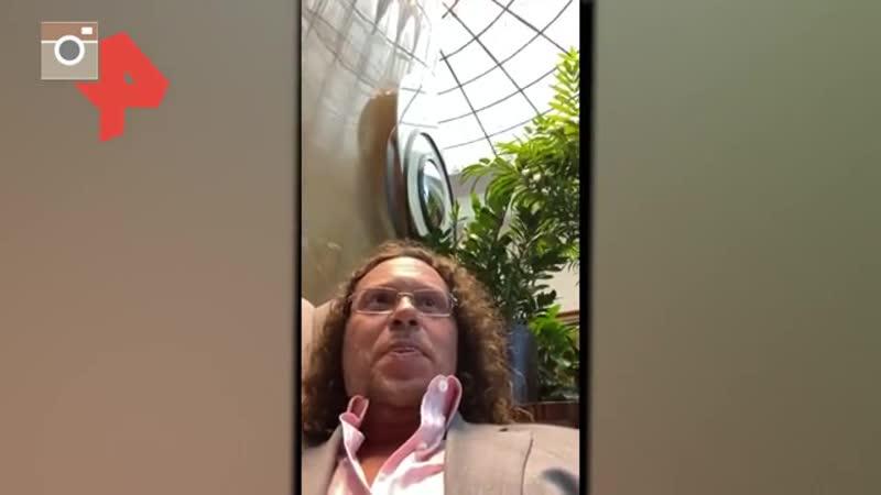 Видео Полонский устроил потасовку в башне Москва Сити