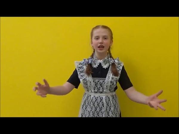 Позднякова Дарья читает стихотворение Юлии Друниной Ты должна