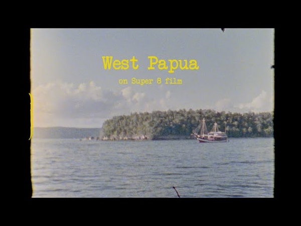 Raja Ampat West Papua on Super 8 Film