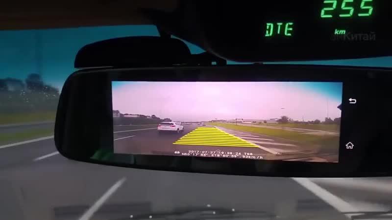 Обзор на зеркало видеорегистратор Fujicar FC8 новинка 2021
