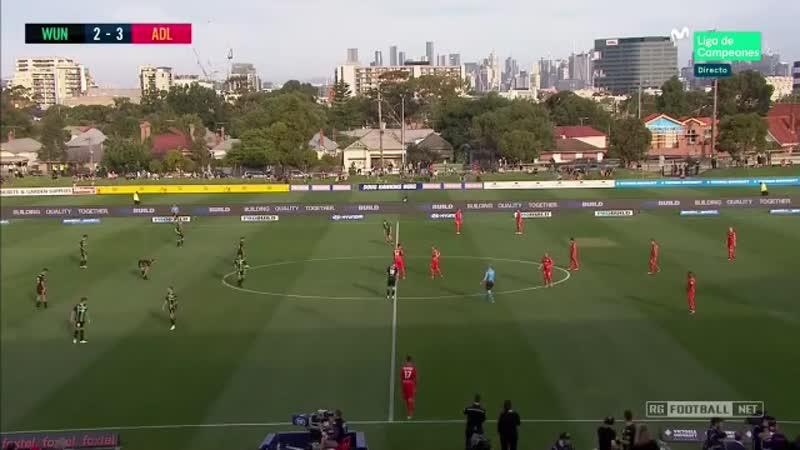 Чемпионат Австралии 2019 20 16 й тур Вестерн Юнайтед Аделаида Юнайтед 2 тайм