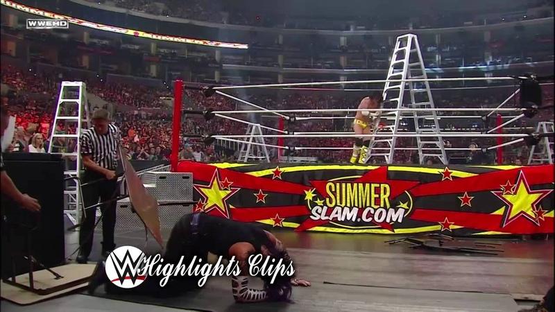 CM Punk vs Jeff Hardy Summerslam 2009 Highlights