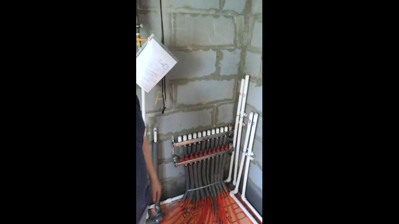 Монтаж отопления в КП Близкий, НСО