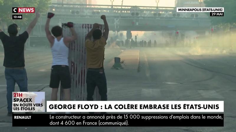 George Floyd la colère embrase les Etats Unis
