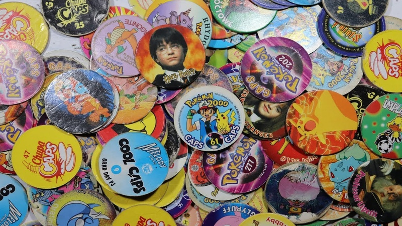 Фишки Кепсы Cотки Tazo Pokemon Harry Potter Chupa Caps 10