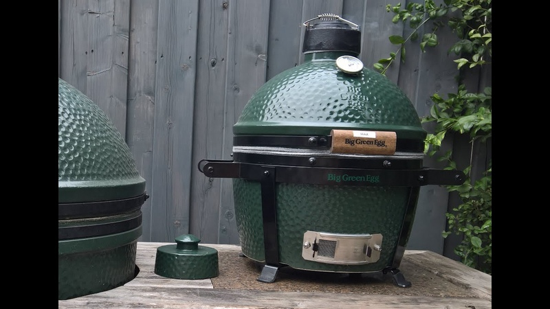 Grilled Chicken on the Big Green Egg Mini Max *ThemaPen Mk4 Joe Blow Update