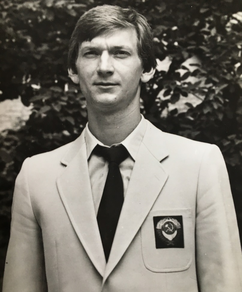 Владимир Репьев — игрок сборной СССР