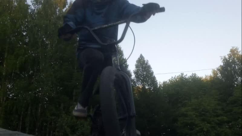 BMX RAIDER за 1 с половой месяца научился