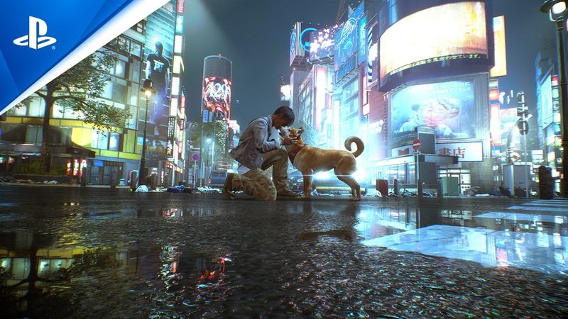 Ghostwire Tokyo Pet the Dog PS5