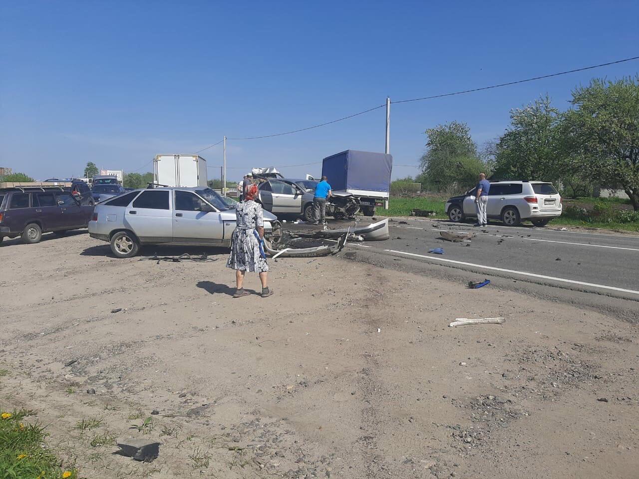 В Брянске на Горке нищих произошло жуткое лобовое ДТП