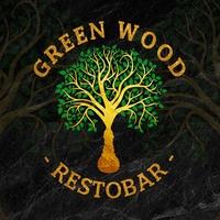Логотип GREEN WOOD / Рестобар Калуга