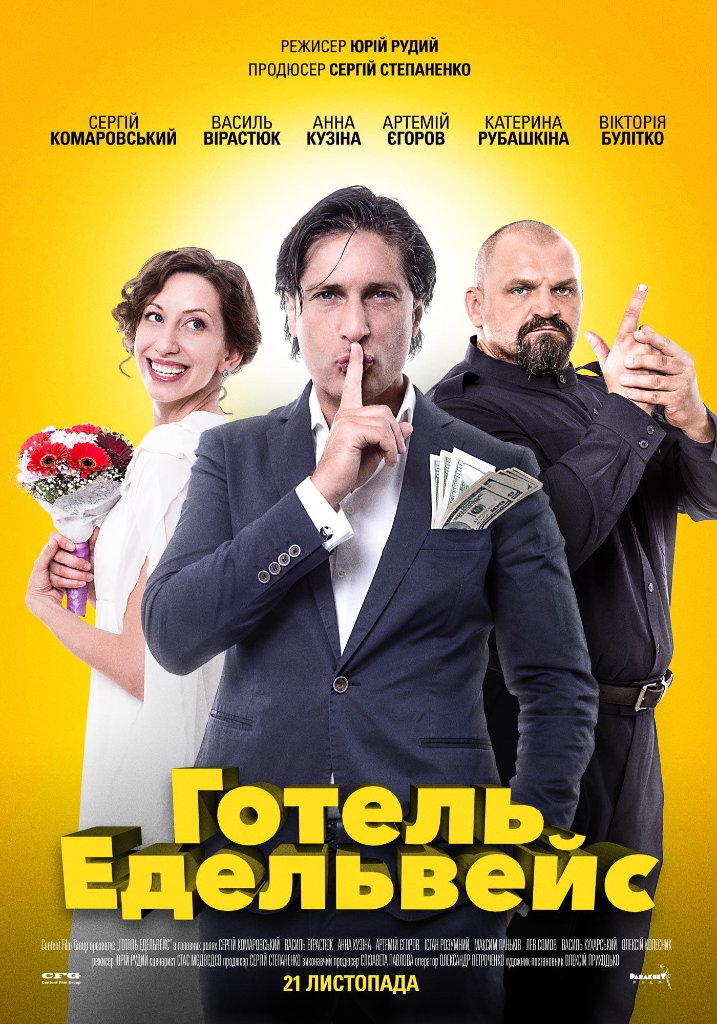 Комедия «Oтeль Эдeльвeйc» (2019) HD