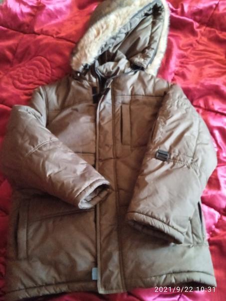Отдам куртку на мальчика, состояние отличное, рост...