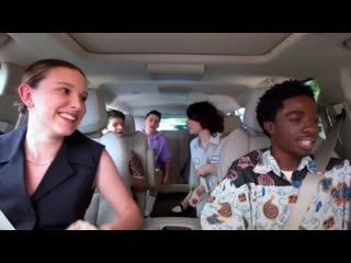 Stranger Things Cast Carpool Karaoke