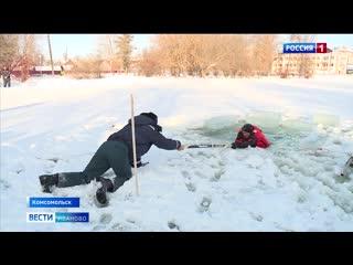 Вытащить пострадавшего из воды может даже ребенок: спасатели провели для школьников из Комсомольска урок безопасности