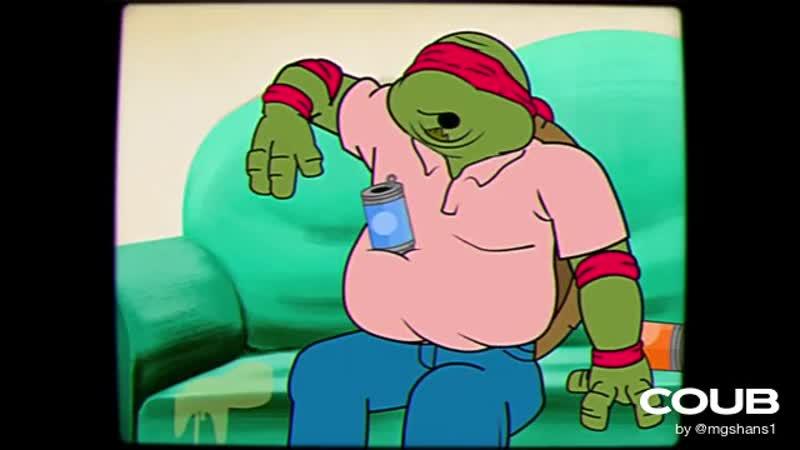 Middle-age mutant ninja turtles