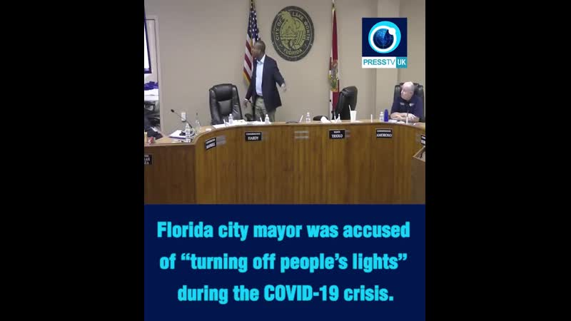 Florida city mayor was accused of turning off people's lights during the COVID 19 crisis