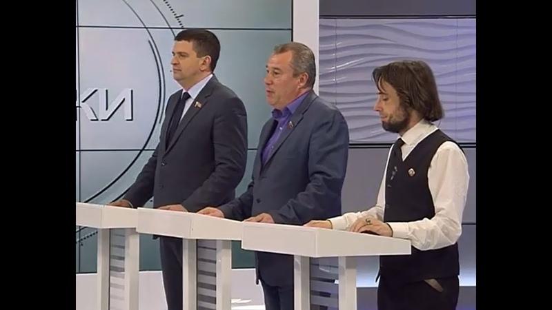 Олег Коваль и Юрий Юров в телепередаче Голос Республики 29 04 2020