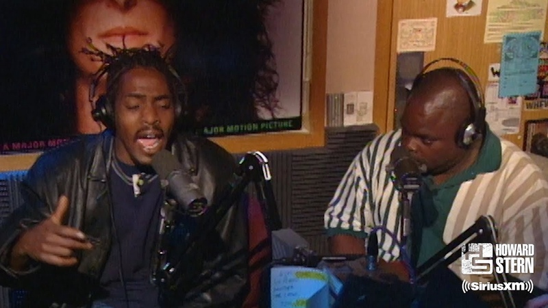"""Coolio ft L V Gangsta's Paradise"""" on the Howard Stern Show 1995"""