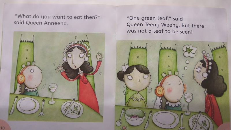 Queen Anneena's Feast Julia Donaldson Melanie Williamson Oxford Reading Tree Read Aloud