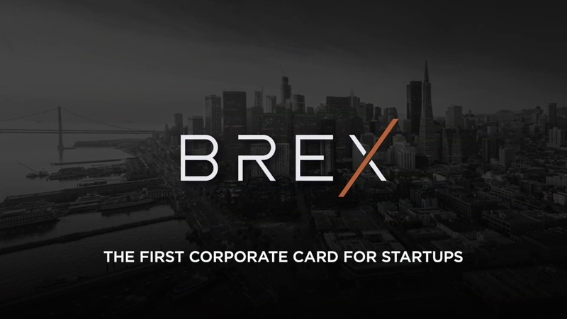 Introducing Brex Startup Corporate Credit Card with Mastercard World Elite
