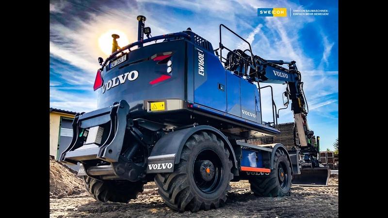 Volvo Mobilbagger EW160E Förster-Edition inkl. Dig Assist